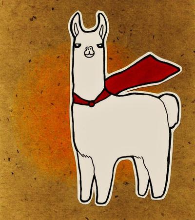Llama Badge by DarrionX