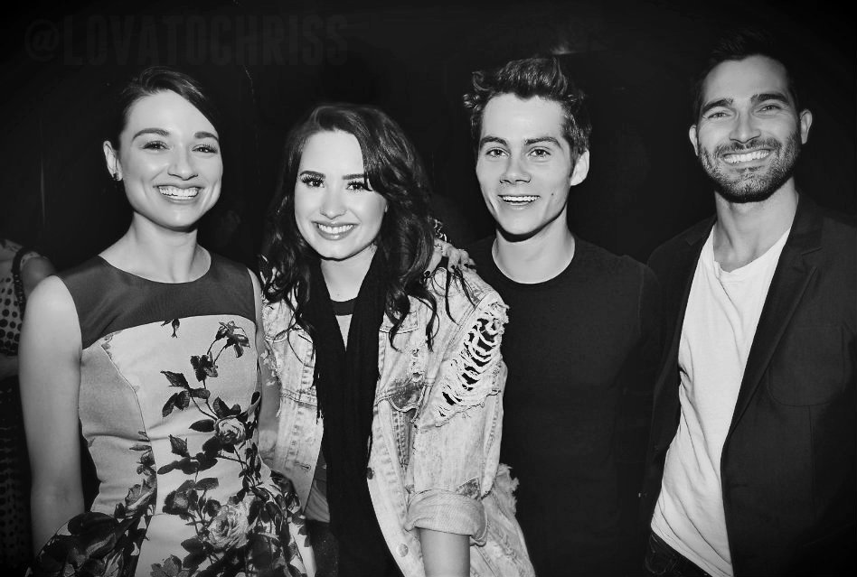 Crystal Reed,Demi Lovato,Dylan O'Brien,Tyler H by ...