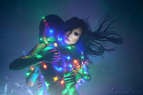 Demi Lovato Christmas 2013 by lovatochriss on DeviantArt