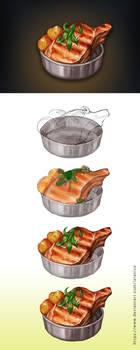 Food icon tutorial