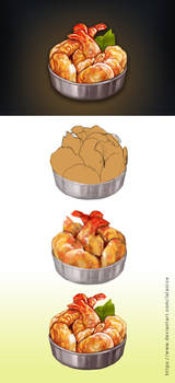 Food icon tutorial 02