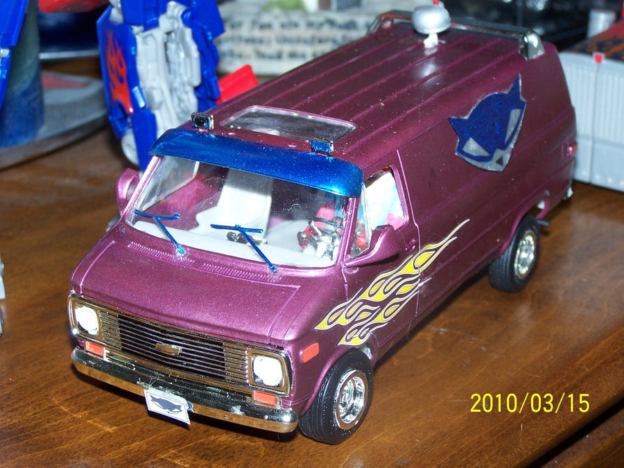 Sly1 Chevy Van Complete1 By Coonk9 On Deviantart