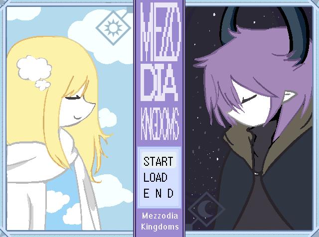 Mezzodia Kingdoms Title Screen by darkharukan