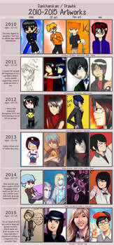2010-2015 Art summary!