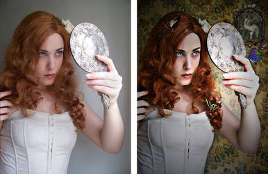 Vintage Fairy Makeover by MafaldaxXx