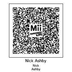 Tomodachi life qr code: Nick Ashby by ilikecookies23