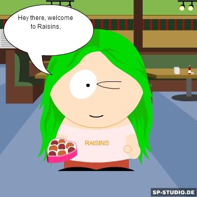 Boo the Raisins girl by ilikecookies23