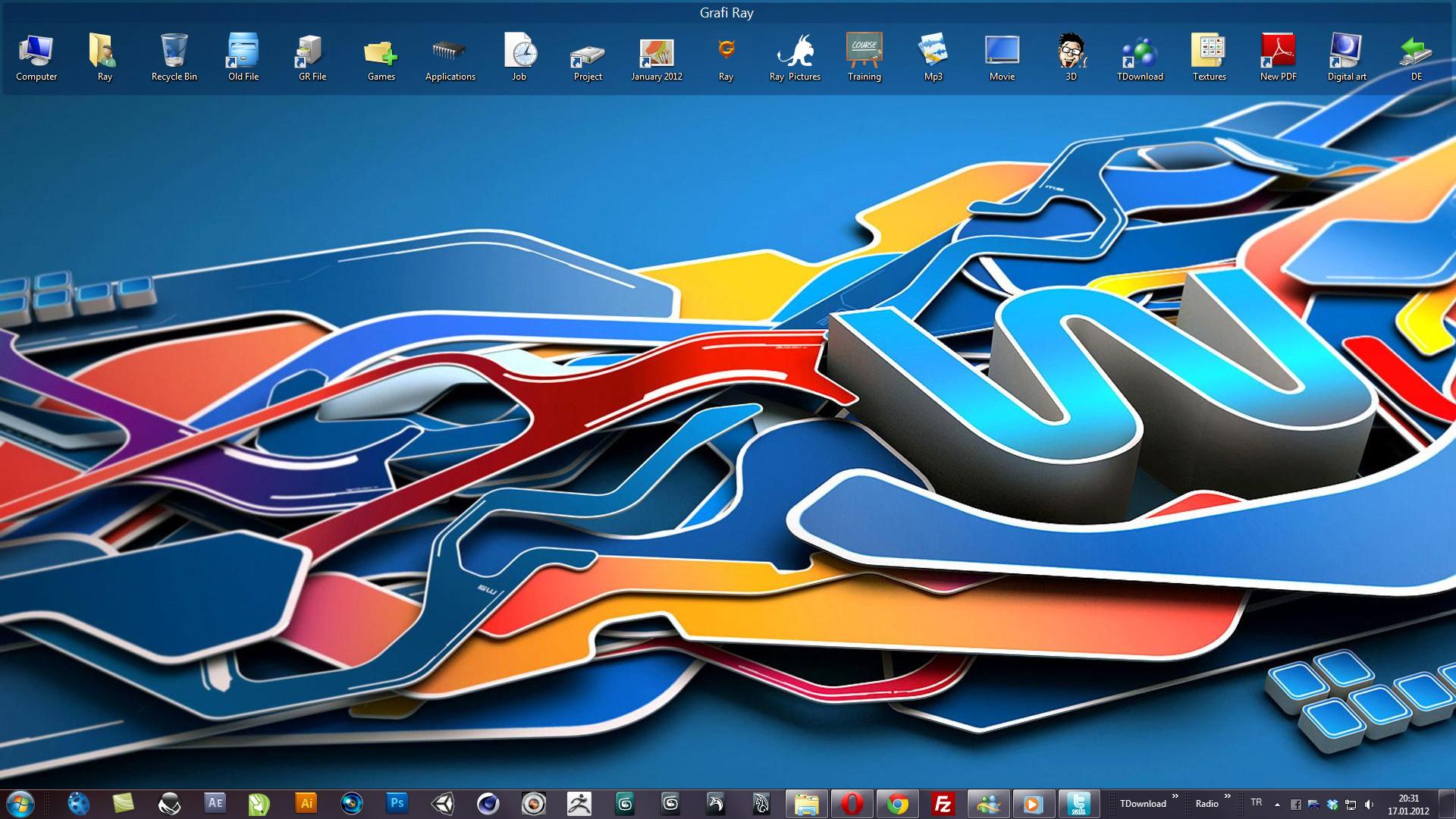 Desktop by Grafi-Ray