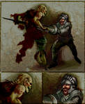 Ghosts N' Goblins Zombie Fight