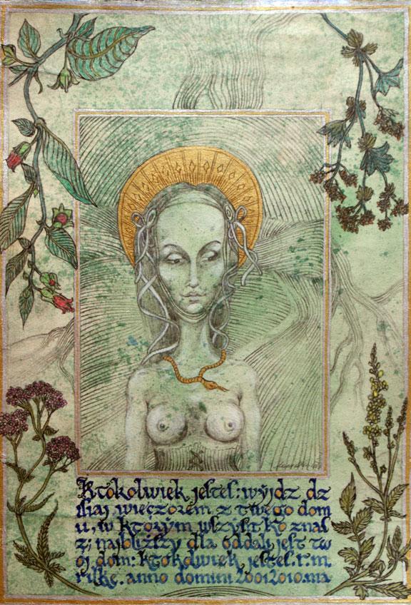 Madonna of wanderers by marzenaabl