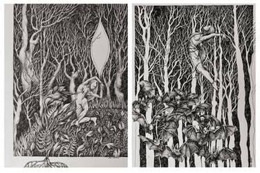 Silver Forest by marzenaabl