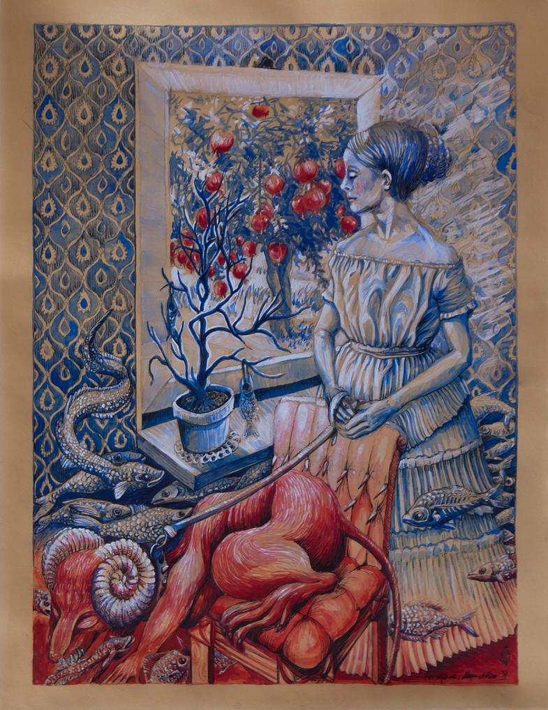 Persephone by marzenaabl