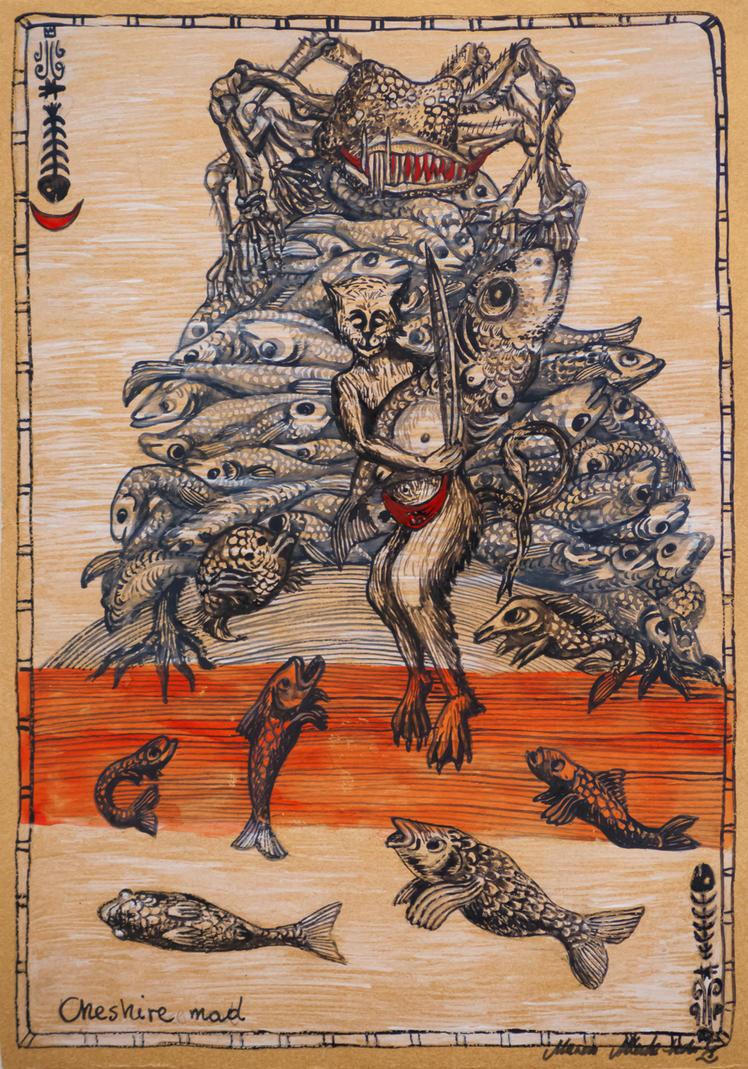 Bestiary Card No.26 by marzenaabl