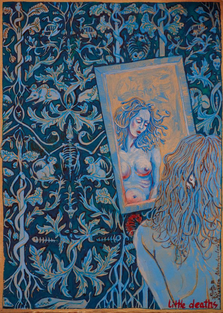 Bestiary Card No27 by marzenaabl