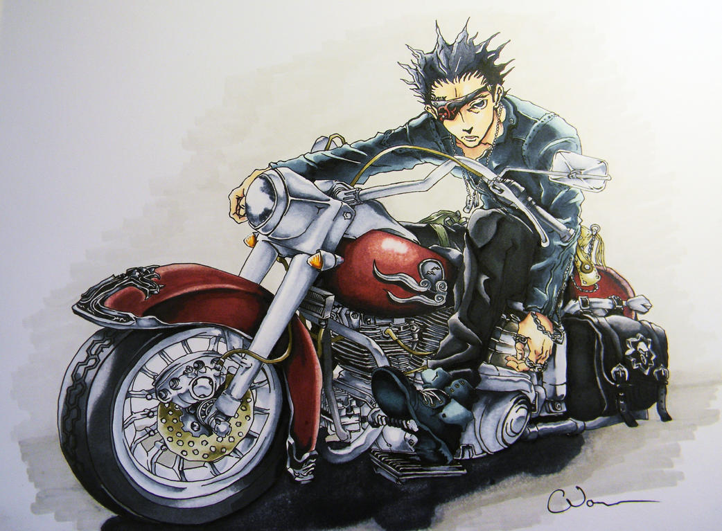 Senji - Deadman Wonderland by Raptchur