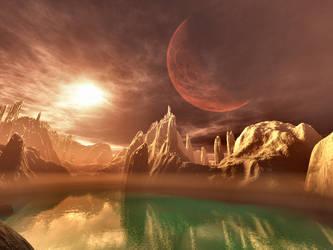 Aquam Terramque Poscere by SavageDragon1313