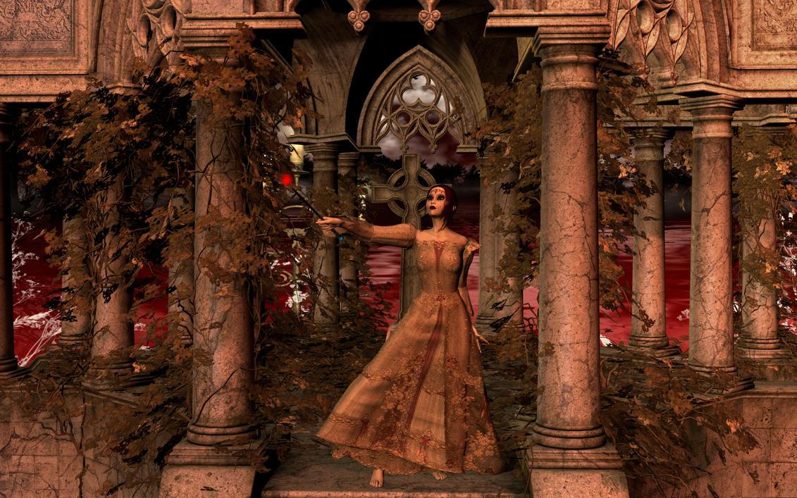 Night of the Dark Rose by SavageDragon1313