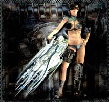Shiny New Gun by SavageDragon1313