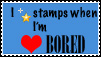 I Fav Stamps When I'm Bored by The-Art-Godess
