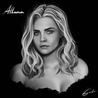 Athena by LoneRevenger