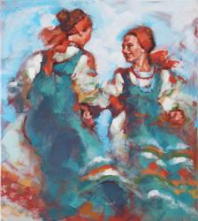 DANCES OF THE WORLD 3 by renatadomagalska