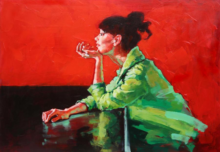 Zena na slikarskom platnu The_Black_Square_by_renatadomagalska