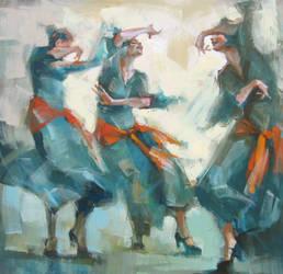 three graces by renatadomagalska