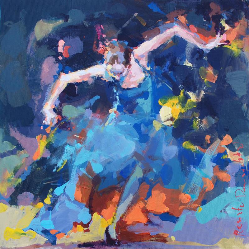Blue hurricane by renatadomagalska