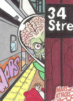 MARS ATTACKS: OCCUPATION PREVIEW 34th St