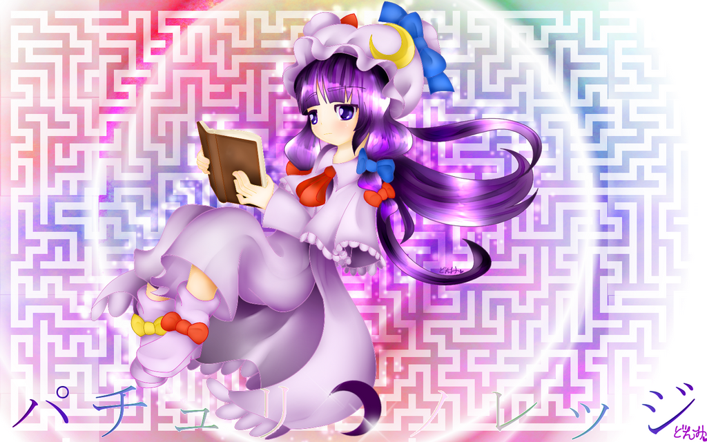 Touhou Project: Patchouli Knowledge by PrettyWitchDoremi