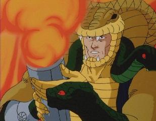 Serpentor's been hittin' the Bong lol by Drakken247