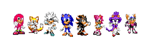 Sonic 2006 SMS Style
