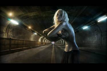 tunnel by felipmars