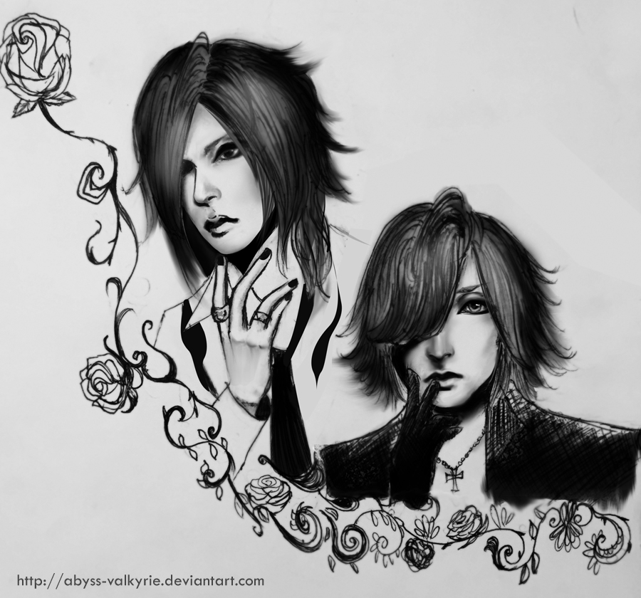 Uruha and Ruki-The Gazette by Abyss-Valkyrie
