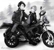 Inktober-Motorcycle-Wolfstar