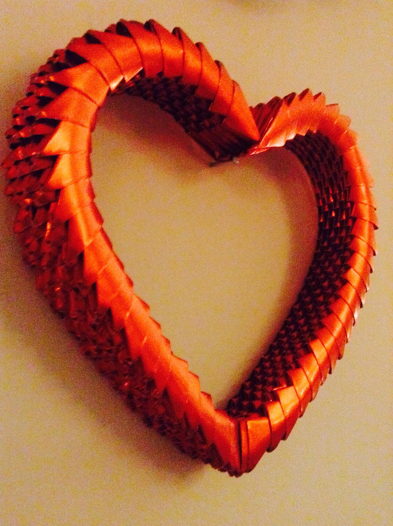 3d origami heart by mattausorigami on deviantart 3d origami heart by mattausorigami jeuxipadfo Gallery