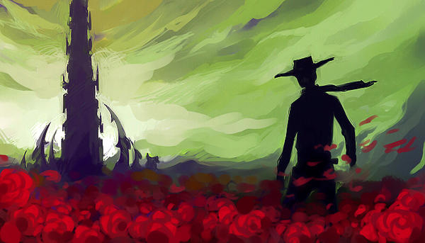 The Dark Tower doodle by atomic-cocktail