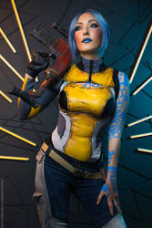 Borderlands Maya cosplay by atomic-cocktail