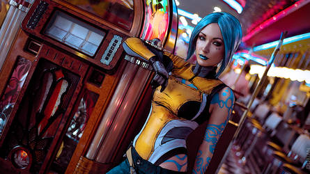 Borderlands 2 Maya Cosplay by atomic-cocktail