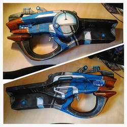 Borderlands 2 Maliwan rifle by atomic-cocktail