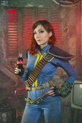 Fallout cosplay - Nuka Cola