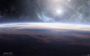 Gliese 581c by A4size-ska