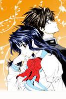 Sousuke and Chidori by Iari-chan