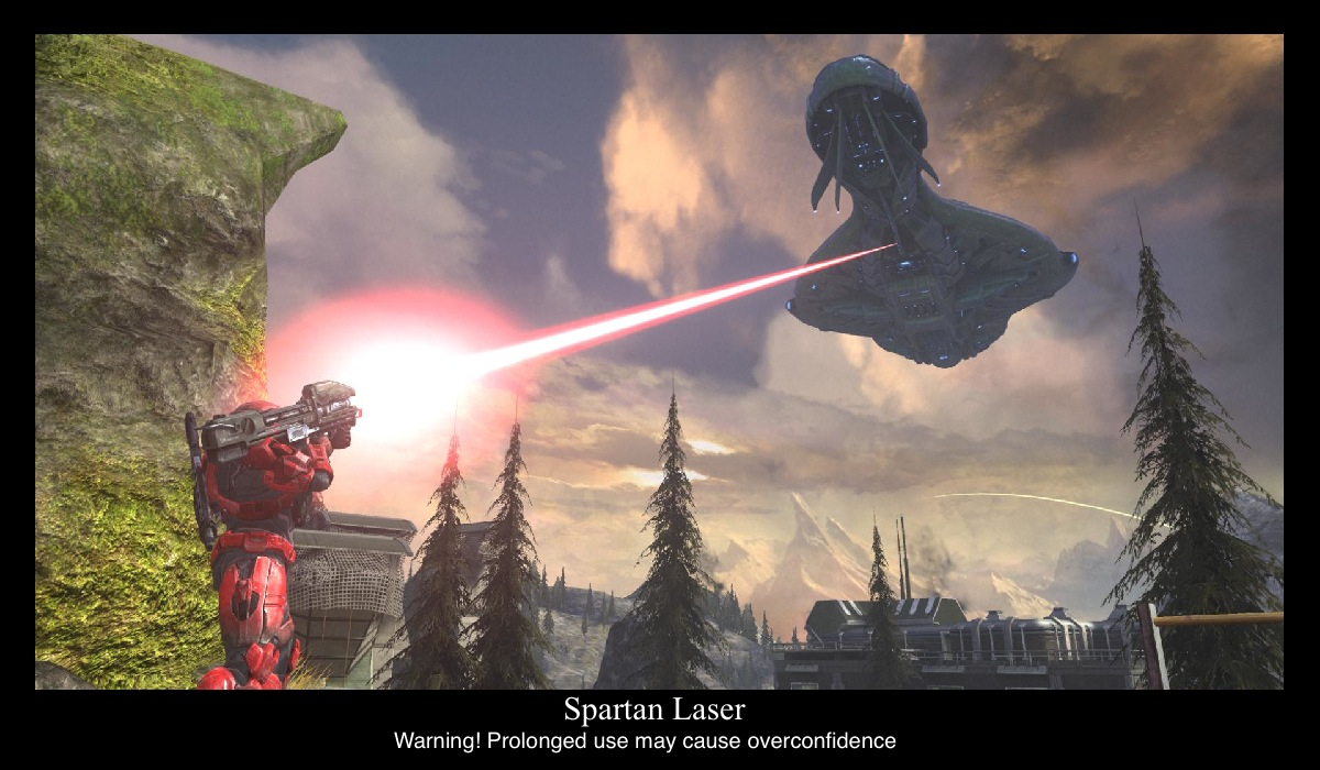Spartan Laser by compositecoyote