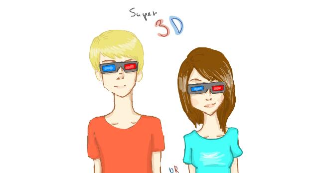 Super 3D by bakaRabbit