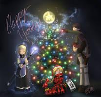 Hakaisha Christmas by shadrad