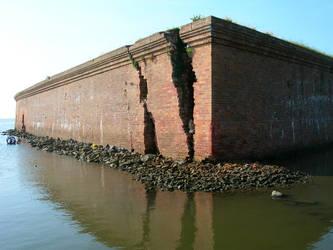 Fort Pike - Katrina Damage