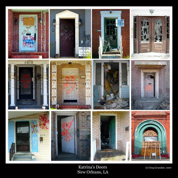 Katrina - Doors of New Orleans by Kicks02