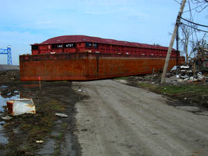 Lower 9th Barge - 2