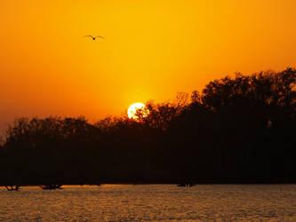 Lafitte Sunset 2 by Kicks02